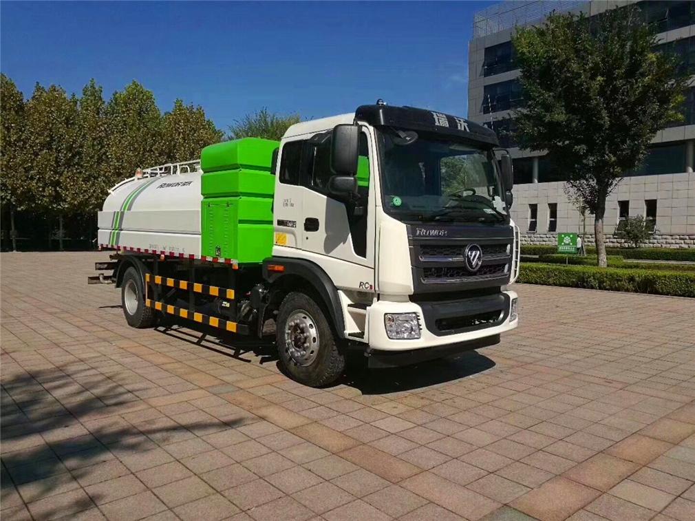 (8-12吨)福田瑞沃洒水车