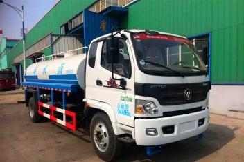 (5-11吨)福田欧马可洒水车