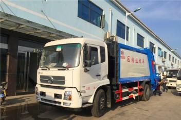 (10-12方)东风天锦压缩垃圾车