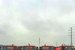 青海西宁重点林区消防水罐车顺利交付