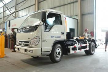 (4-5方)福田小卡车厢可卸式垃圾车