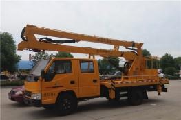 江铃双排折叠臂高空作业车 (12-16米)