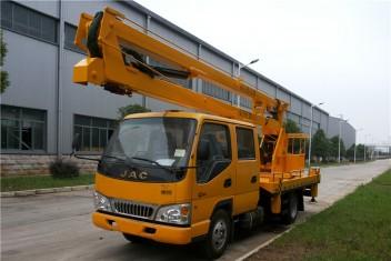 江淮双排折叠臂高空作业车(12-16米)