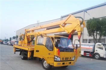 五十铃双排折叠臂高空作业车(18米)