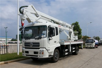 东风天锦折叠臂高空作业车(20-22米)