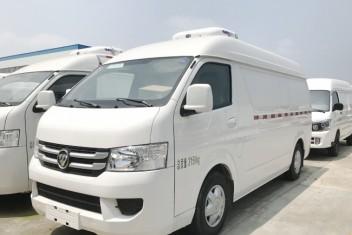 福田G7双排座面包冷藏车