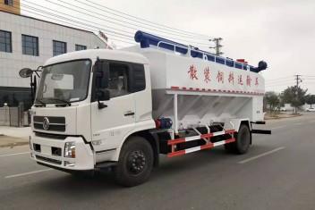 (22方)东风天锦散装饲料运输车