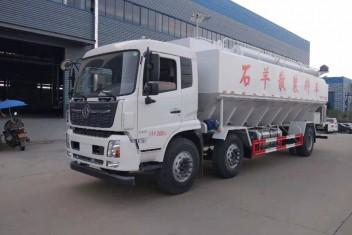 (30方)东风天龙小三轴饲料运输车
